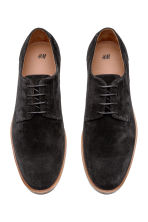 Suede Derby Shoes - Black - Men | H&M CA 2