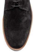 Suede Derby Shoes - Black - Men | H&M CA 3