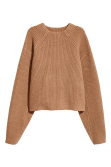 Knitted wool jumper