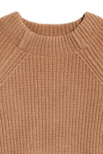 Knitted wool jumper - Camel - Ladies | H&M 3