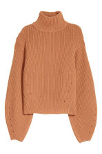 Cashmere-blend jumper - Camel - Ladies | H&M IE 2