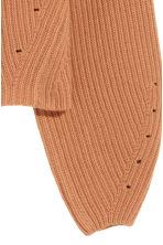 Cashmere-blend jumper - Camel - Ladies | H&M IE 3