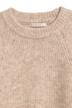 Jumper in a mohair blend - Beige - Ladies | H&M CN 3