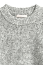 Mohair-blend Sweater - Gray melange - Ladies | H&M CA 3