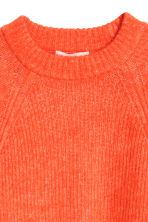 Mohair-blend jumper - Orange - Ladies | H&M 3