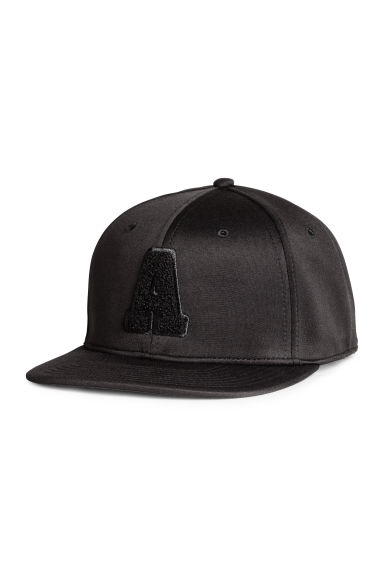 Cap with embroidery - Black - Men | H&M 1