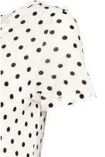 MAMA 平紋上衣 - White/Spotted - Ladies | H&M 3