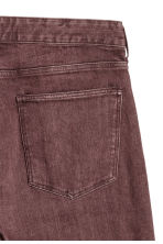 Wide jeans - Dark red/Washed out - Men | H&M GB 4