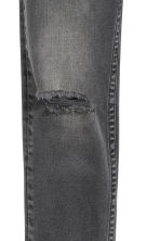 Superstretch Skinny fit Jeans - Dark grey denim -  | H&M 4