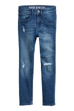 Superstretch Skinny fit Jeans - Bleu denim - ENFANT | H&M BE 2
