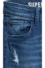 Superstretch Skinny fit Jeans - Bleu denim - ENFANT | H&M BE 4