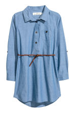Shirt Dress - Denim blue -  | H&M CA 2