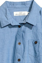 Shirt Dress - Denim blue -  | H&M CA 4