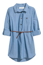 Shirt Dress - Denim blue -  | H&M CA 3
