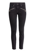 Skinny Regular Ankle Jeans - 黑色 - Ladies | H&M CN 2
