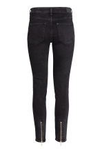 Skinny Regular Ankle Jeans - 黑色 - Ladies | H&M CN 3