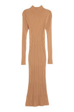 Knitted dress - Camel - Ladies | H&M 2