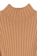 Knitted dress - Camel - Ladies | H&M 3