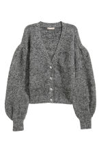 Wool-blend cardigan - Grey - Ladies | H&M 2