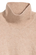 Pullover collo alto in mohair - Beige chiaro - DONNA | H&M IT 3