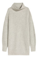 Cashmere-blend jumper - Light grey - Ladies | H&M CN 2
