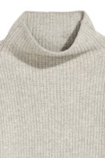 Cashmere-blend jumper - Light grey - Ladies | H&M CN 3