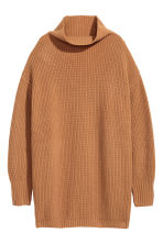 Cashmere-blend jumper - Camel - Ladies | H&M CN 2