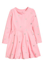 平紋洋裝 - Light pink/Spotted - Kids | H&M 2
