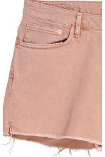 H&M+ Denim shorts - Powder pink - Ladies | H&M IE 4