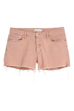 H&M+ Denim shorts - Powder pink - Ladies | H&M IE 2