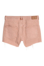 H&M+ Denim shorts - Powder pink - Ladies | H&M 3