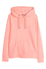 H&M+ Hooded top - Neon pink - Ladies | H&M 2