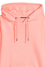 H&M+ Hooded top - Neon pink - Ladies | H&M 3