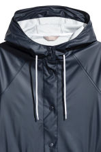 H&M+ Raincoat - Dark blue - Ladies | H&M 3