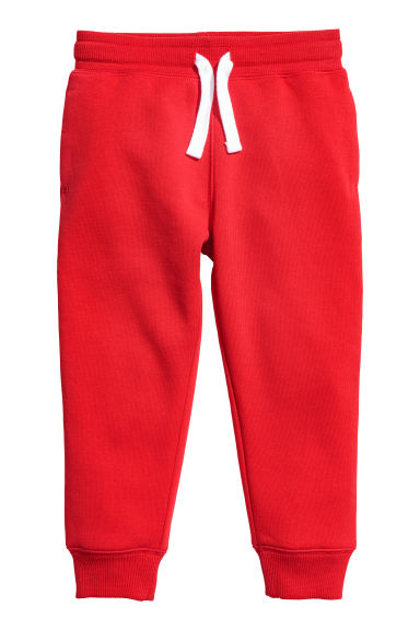 Pantalon jogger - Rouge -  | H&M BE