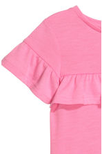 Frilled-trimmed top - Pink - Kids | H&M 3
