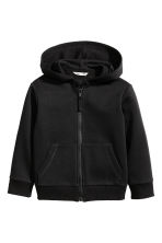 Hooded jacket - Black - Kids | H&M 2