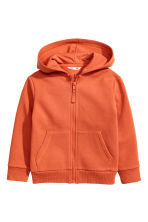Hooded jacket - Orange -  | H&M 2