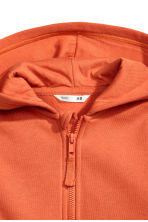 Hooded jacket - Orange - Kids | H&M 3