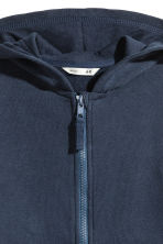 Hooded jacket - Dark blue -  | H&M 3