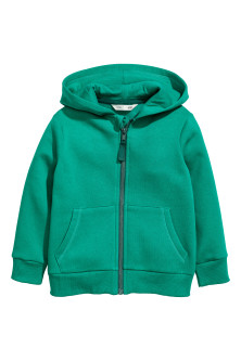 Sweat-shirt à capuche zippé