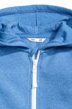 Hooded jacket - Blue marl -  | H&M CN 3