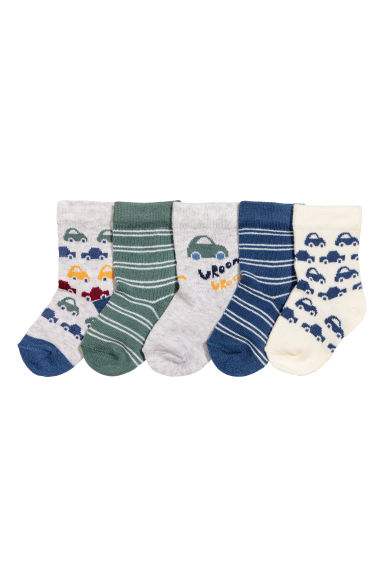 5-pack socks - Blue - Kids | H&M 1