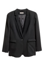 H&M+ Single-breasted jacket - Black - Ladies | H&M CN 2