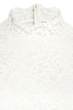 H&M+ Knee-length lace dress - White - Ladies | H&M 3