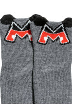 Leggings and socks - Dark grey - Kids | H&M 2