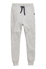 Low-crotch joggers - Light grey marl - Kids | H&M 2