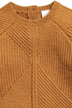 Textured-knit Wool Sweater - Camel - Kids | H&M CA 3