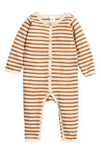 Wool Jumpsuit - Natural white/camel - Kids | H&M CA 1