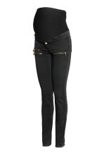 MAMA Treggings tipo biker - Nero - DONNA | H&M IT 2